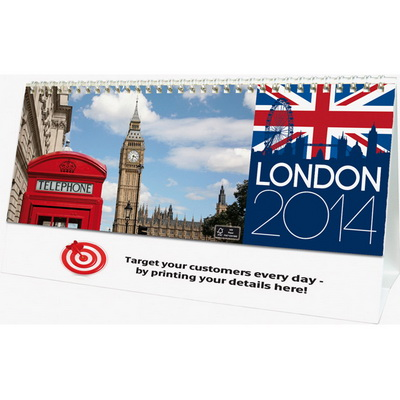 Image of London Desk Calendar