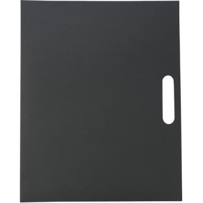 Image of Folder with natural card cover,