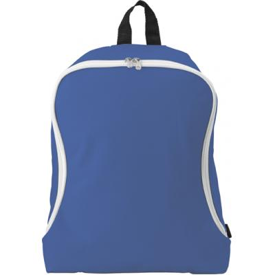 Image of Polyester backpack.