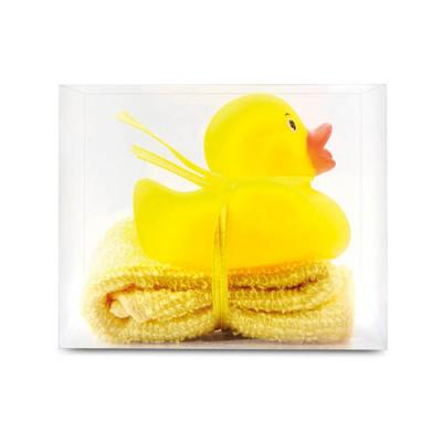 Image of Bath duck with mini towel