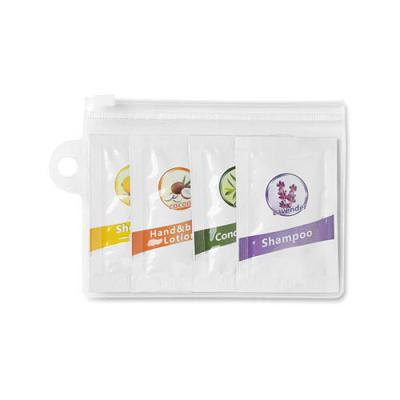 Image of 4 pieces travel bath kit