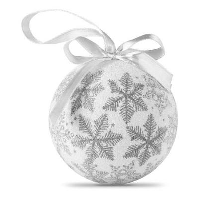 Image of Christmas bauble in gift box