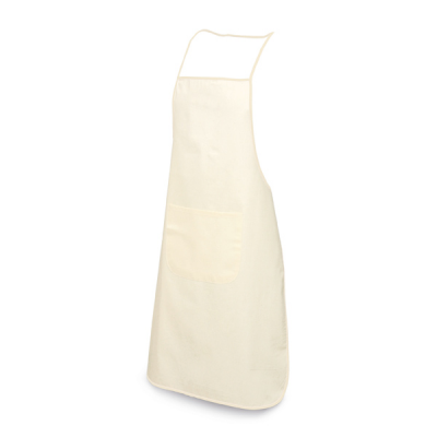 Image of Cotton Apron With 1 Pocket