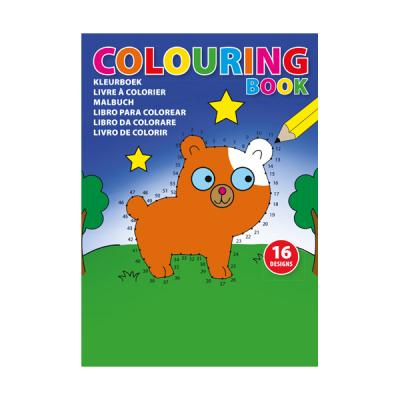 Image of A5 Children's colouring book.