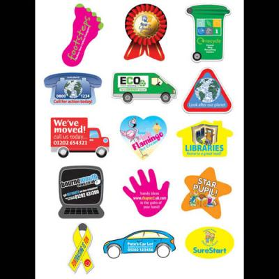 Image of Rectangular Sticker: 25 x 51mm 35 per sheet