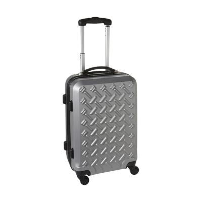 Image of PC/ABS matt silver trolley.