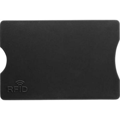 Image of Plastic card holder with RFID protection