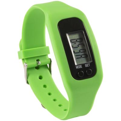 Image of Pedometer with Silicone Wristband